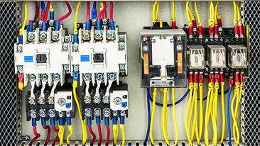 System of the electrical switchboard control box