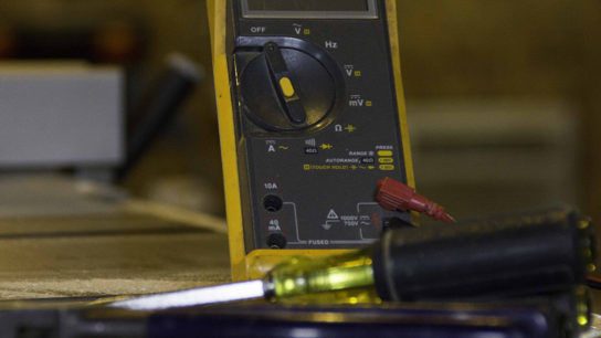 voltmeter Electrical safety training