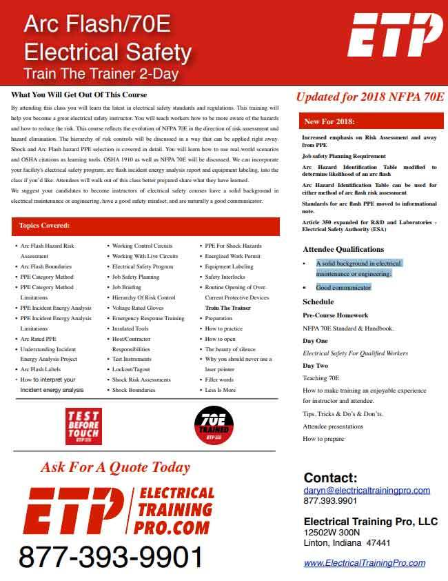 Electrical Safety Qualified Course PDF